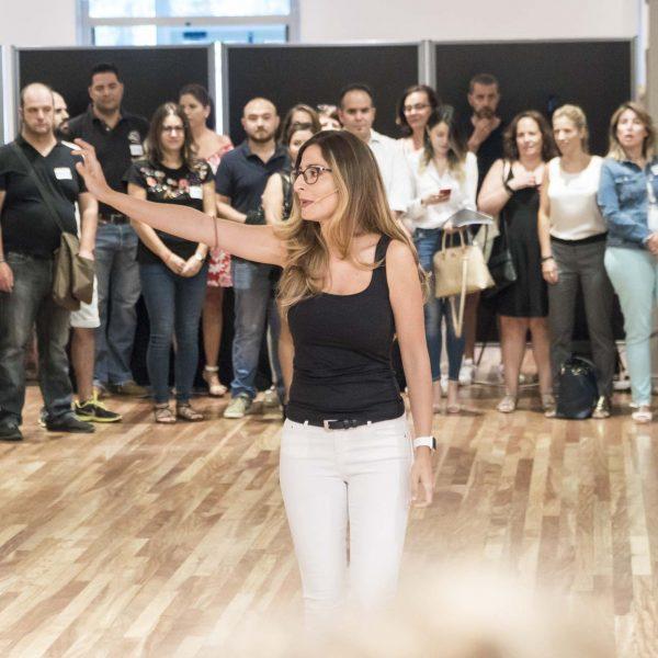 Mónica Galán Bravo instructora de Alto Impacto